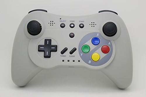 NEXiLUX-Wireless-3-Pro-Controller-Gamepad-for-Nintendo-Wii-U-Gray