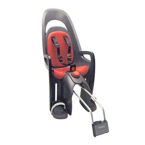 hamax-caress-w-ham553003-seggiolino-per-bicicletta-supporto-bloccabile-colore-grigio-nero-rosso