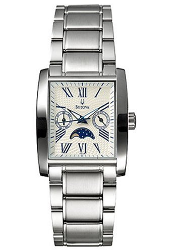 Bulova Men'S 96C26 Moon Phase Watch