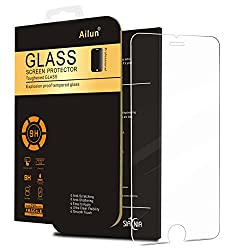 iPhone 6 Plus Screen Protector,iPhone 6S Plus Screen Protector,by Ailun,Premium Tempered Glass,9H Hardness,2.5D Curved Edge,Bubble Free,Anti-Scratch,Fingerprint&Oil Stain Coating-Siania Retail Package