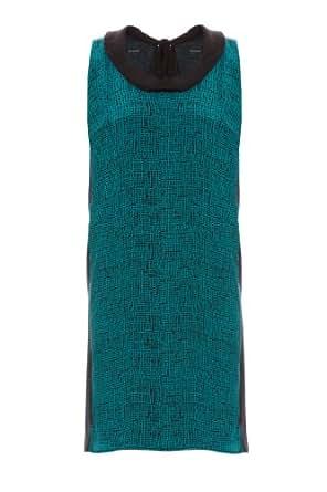 Kookai - Robe - Graphique - Femme - Vert (Emeraude) - 34