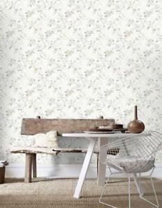 Graham and Brown Rosamund Wallpaper - Cream by New A-Brend