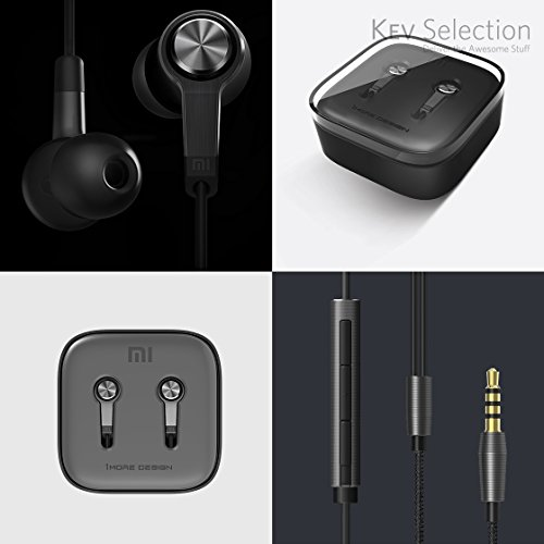 Xiaomi Piston III Headset Earphones with Remote and Mic - Black