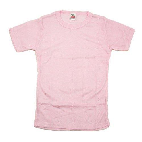 Girls Thermals Short Sleeved T-Shirt Top