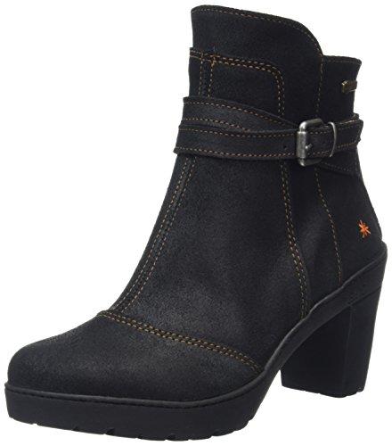 ArtTravel Strap Ankle Boot - Stivaletti donna , Nero (Black (Waxy Black)), 38
