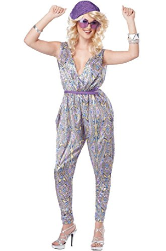 [8eighteen 1970s Disco Boogie Fever Adult Costume] (70s Punk Costumes)