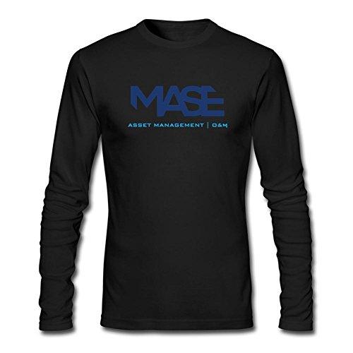 DESBH Men's Mase Rapper Long Sleeve T Shirt Black