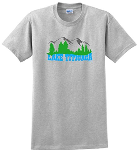 Lake Titicaca T-Shirt 2Xl Ash