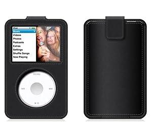 Belkin Etui en cuir pour iPod Classic Noir
