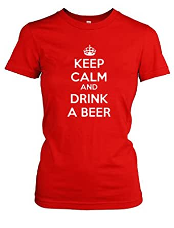 Funny Beer T Shirts For Women Women's Keep Calm And ...