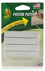 Removable Reusable Non-Toxic Poster Putty (White)