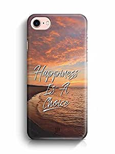 YuBingo Happiness is a Choice Designer Mobile Case Back Cover for Apple iPhone 7