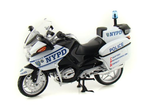 BMW R1200RT-P NYPD Police Motorcycle 1/12