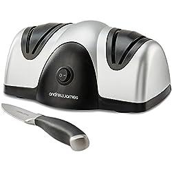 Andrew James Messerschärfer / Messerschleifer für Küchenmesser, elektrisch, 2Stufen