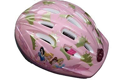 Disney Princess Pink Girls Helmet 50 - 54 cm (weight 225g) from Disney
