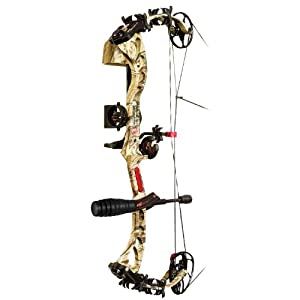 PSE Bow Madness XS RTS Package Left Hand Bow, 70-Pound, Mossy Oak Break Up Infinity