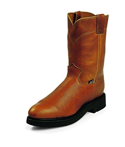 Justin Work Boots Mens Double Comfort Steel Toe 4766