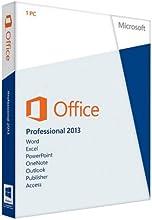 Microsoft Office Professional 2013 - Suites de programas (1 usuario(s), ENG, 3000 MB, 1024 MB, 1000 MHz, PC)