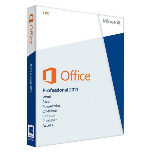 Office Professionnel 2013 – 1 PC (carte d'activation)