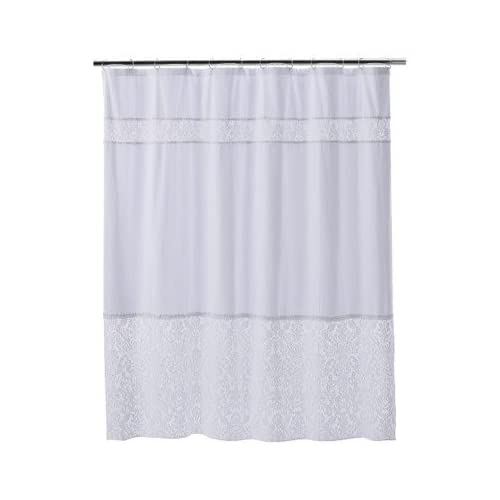 Amazon Com Simply Shabby Chic Meshed Lace Dobby Shower