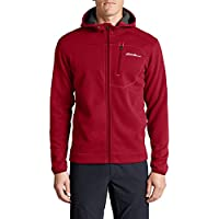 Eddie Bauer Mens Synthesis Pro Full-Zip Hoodie (Cherry)