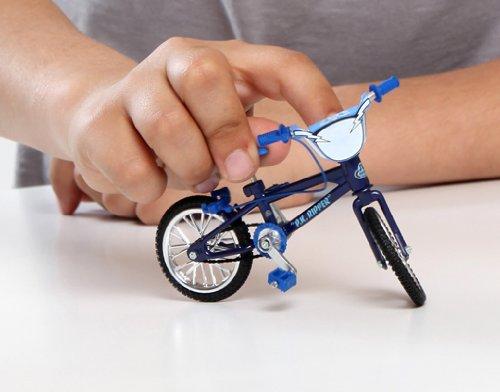 Imagen 4 de Flick Trix 6014025 Bike Shop - Bicicleta en miniatura con piezas de sustitución [Importado de Alemania]