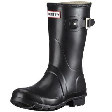 Hunter Unisex-Adult Original Short Black Wellington Boot W23758 3 UK