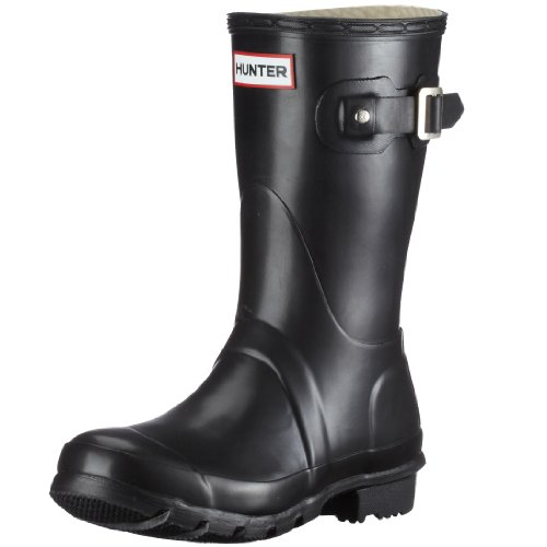 Hunter Unisex-Adult Original Short Black Wellington Boot W23758 3 UK