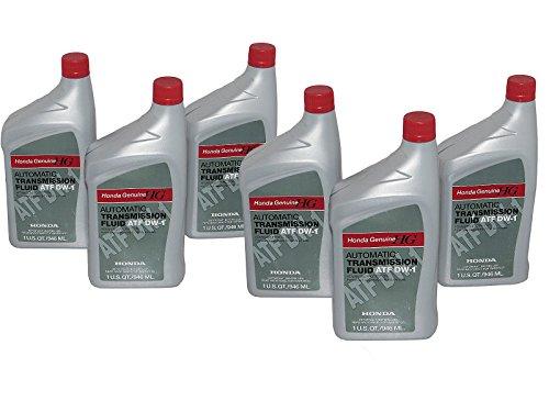 Honda Automatic Transmission Fluid ATF-DW1 6 Pack (Honda Transmission Atf Dw1 compare prices)