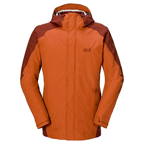 Jack Wolfskin ICE PORTAGE JACKET MEN red clay