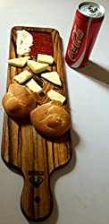 Teak-wood Premium Cheese-Bread Tray / Board 18