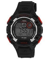 Timex Shock Digital Grey Dial Mens Watch - T49973