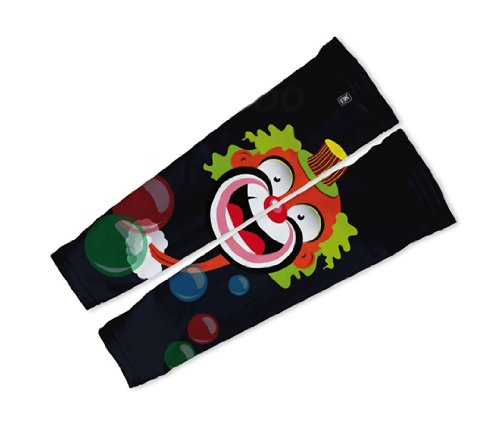 Image of Bubbly Clown Arm Warmers Sleeves Unisex Walking/Cycling/Running (01-AWS-025-PM)