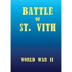 Battle of St.Vith