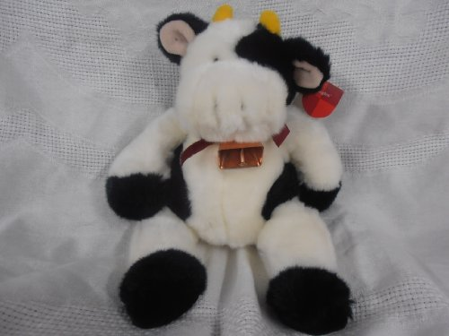 "Jangles Cow Plush Toy 9"" Long - 1"