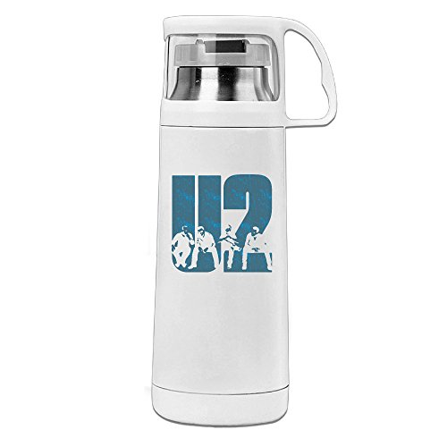 Thermos 12 Ounce Stainless Steel Commuter Bottle, U2 Band Coffee/ Water Bottle, Travel Thermal Mug With Drink Cup (Joemo Travel Mug Lid compare prices)