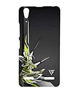Vogueshell Graffiti Design Printed Symmetry PRO Series Hard Back Case for Lenovo A6000