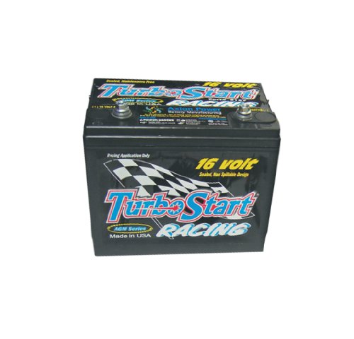 TurboStart S16V AGM Series 16-Volt Dry Cell Racing Battery