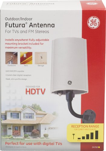 GE 24769 Outdoor Antenna for Digital HDTV Futura