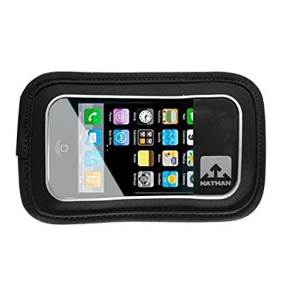 Nathan Hydration 2014/15 Fusion Series Hydration/Nutrition Belt Add-On Weather-Resistant Phone Pocket