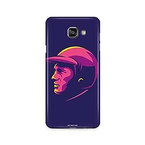 Motivatebox - Samsung Galaxy A7 2016 Back Cover - Men with Helmet Art Polycarbonate 3D Hard case protective back cover. Premium Quality designer Printed 3D Matte finish hard case back cover.
