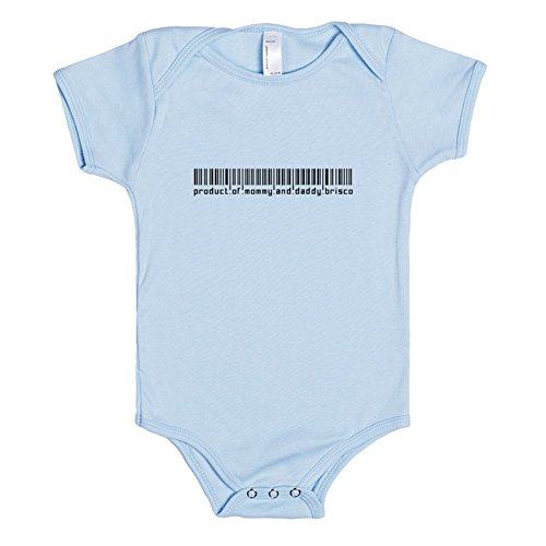 product-of-mommy-and-daddy-brisco-funny-baby-barcode-3-6m-light-blue-baby-one-piece