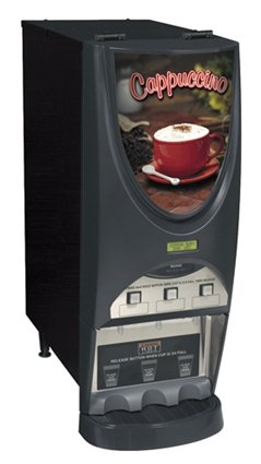 Bunn Imix-3S+ Hot Beverage System W/3 Hoppers Blk Th front-583945