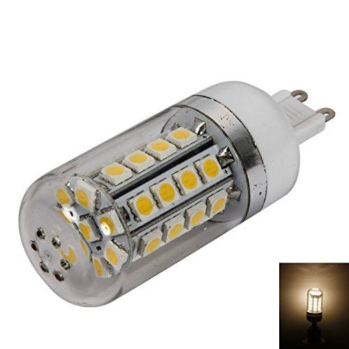 Great Value Dimmable Bulbs G9 7W 36Leds Smd5050 3000K Warm White Light Dimmable Led Corn Light Bulb With Translucent Shade (85-265V)