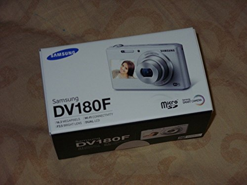 Samsung DV180F 16MP 5x Optical Zoom Smart Camera (White) EC-DV180FBPWE1 - International Version (No Warranty) (Samsung Nx Mini Adapter compare prices)