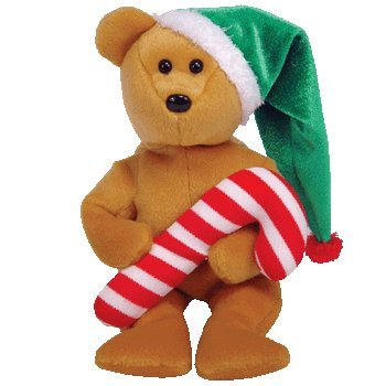 TY Beanie Babies: TASTY the Holiday Teddy Bear Small Plush