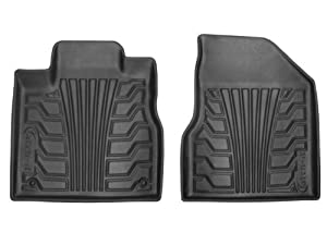 Lund 283096-G Catch-It Vinyl Grey Front Seat Floor Mat - Set of 2