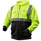 Milwaukee 2376-2X M12 Cordless High Visibility Heated Hoodie Only - 2X