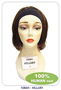 New born free human hair wig: HILLARY-Color: 30