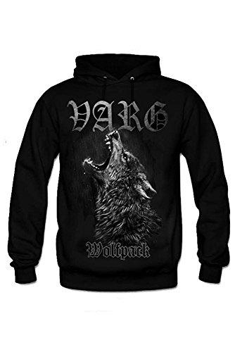 Varg -  Felpa  - Maniche lunghe  - Uomo nero XL